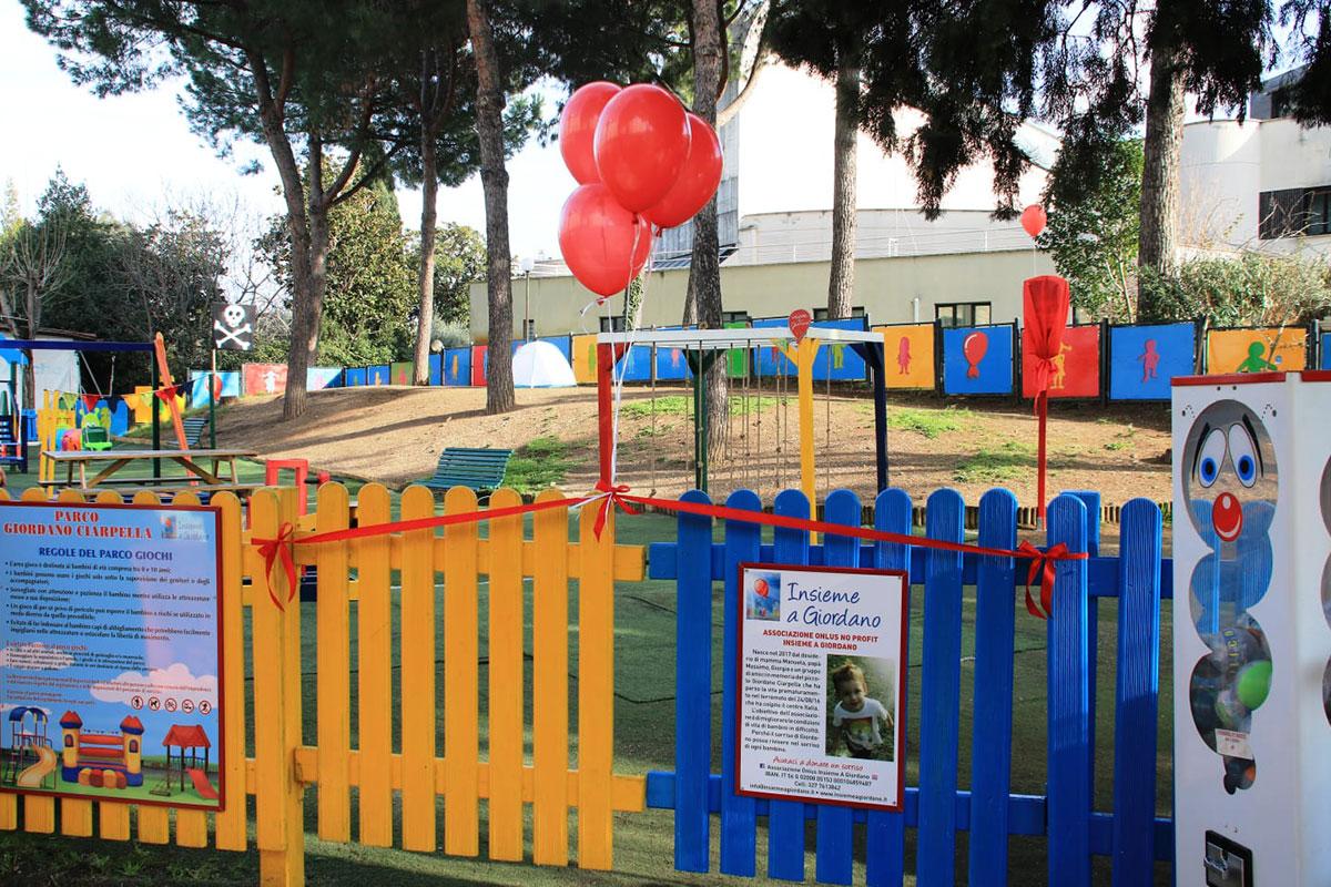 Parco dedicato a Giordano